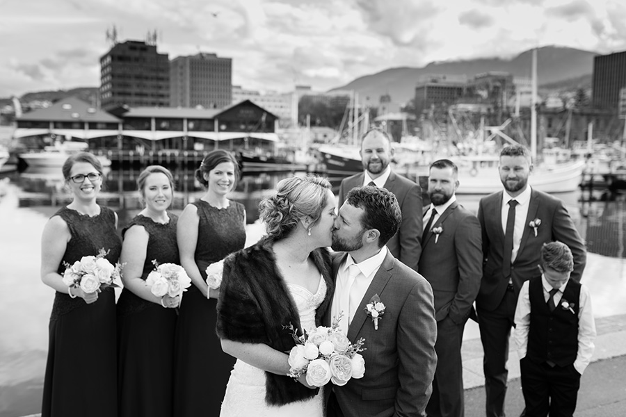 Kate & Tyson - Hobart Waterfront Tasmania