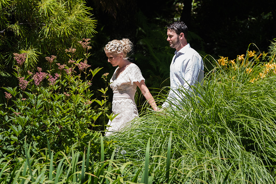 Royal Tasmanian Botanical Gardens - Simone & Jarrod's Wedding